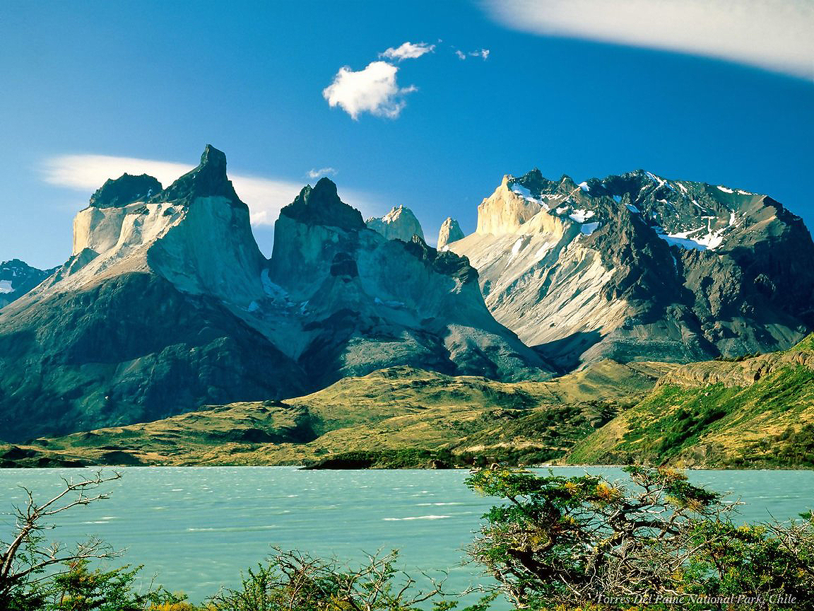 Torres del Paine in Chile is an amazing national park.