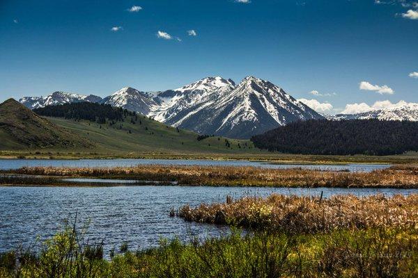 Montana's Red Rock Lakes #WildlifeRefuge by George Jordan, USFWS