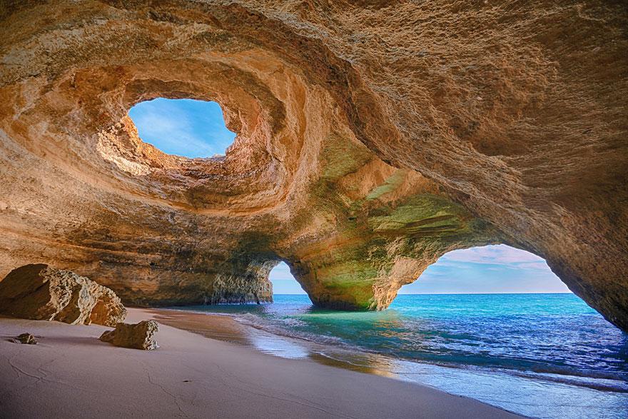 Cave in Algarve, Portugal