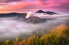 Clouds Over Bromo Volcano, Indonesia Photo | One Big Photo
