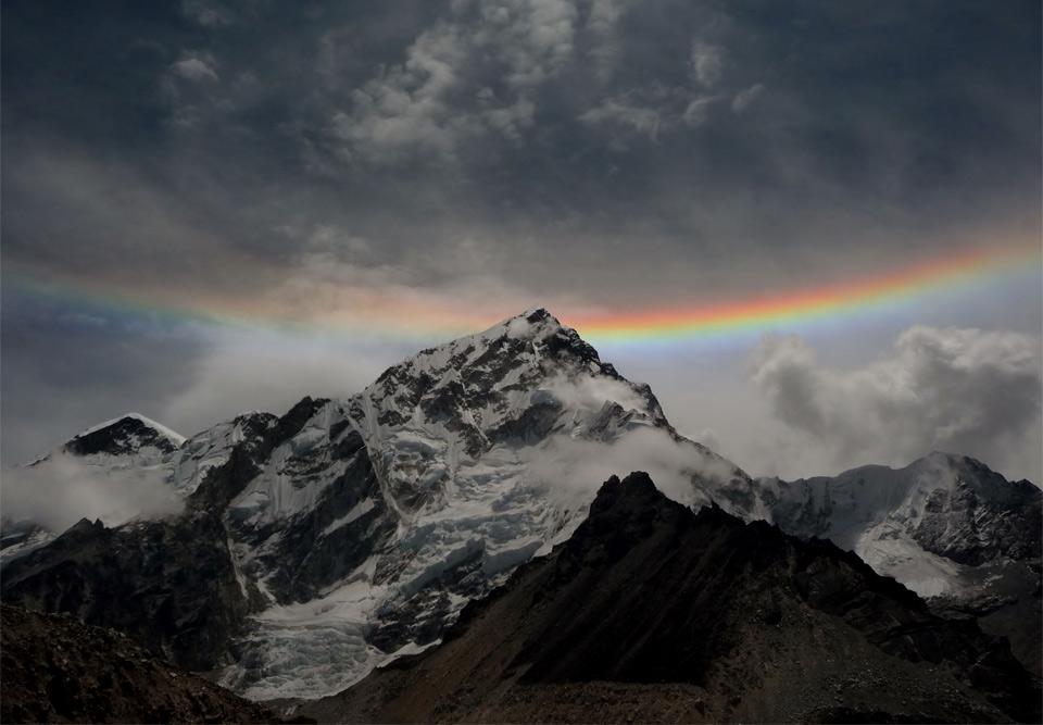 Rainbow Over Mt. Everest Photo | One Big Photo