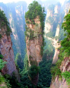 Tianzi Mountains, China