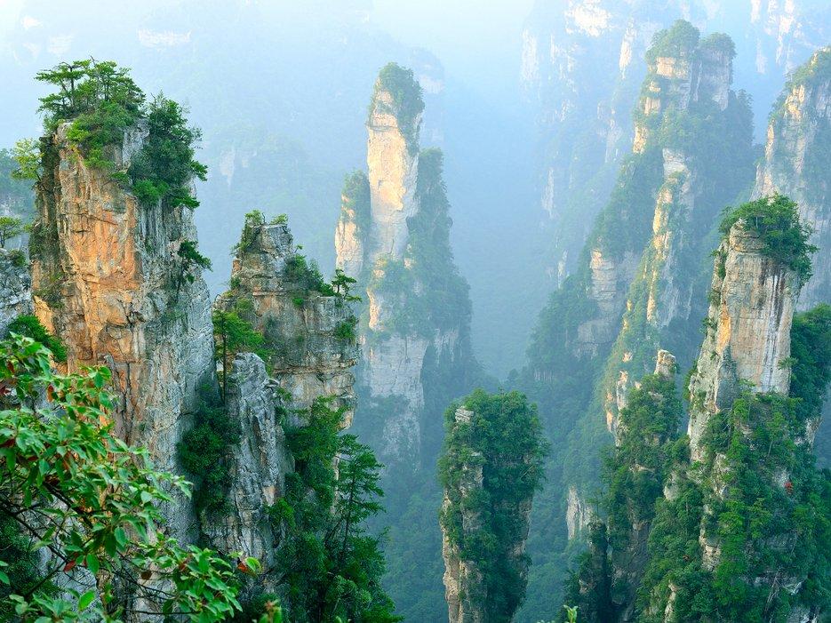 Wulingyuan, Zhangjiajie, China
