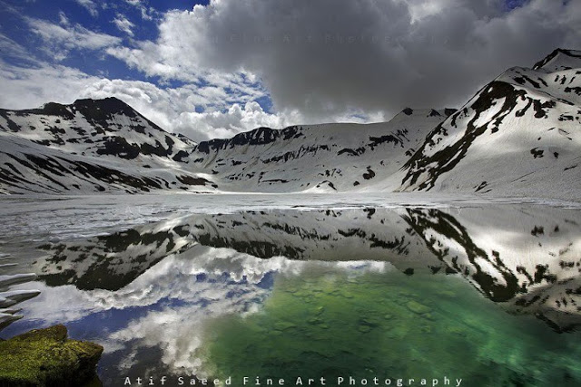 Dudipatsar Lake, Upper Kaghan Valley, Pakistan.