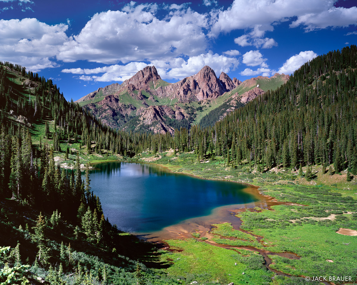 Emerald Green : Weminuche Wilderness, Colorado
