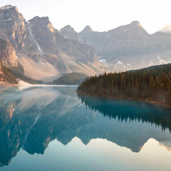 Moraine Lake, AB, Canada