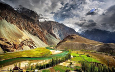 Phander, Ghizer Valley, Pakistan.