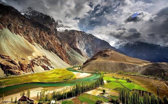 Phander, Ghizer Valley, Pakistan.