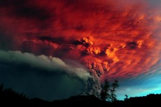 Puyehue volcano eruption, Chile