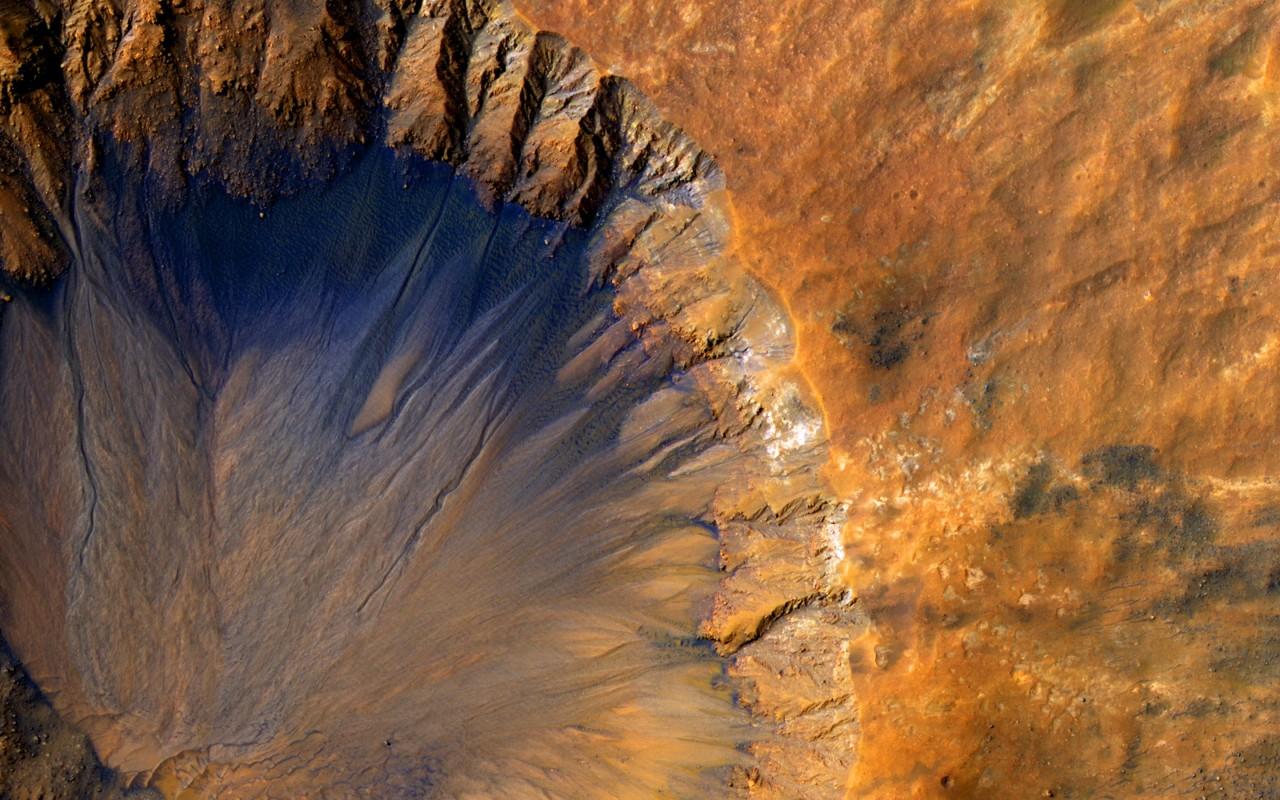 Sirenum Fossae, Mars