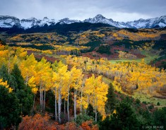 Sneffels Range Autumn : San Juan Mountains, Colorado