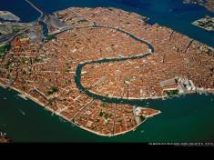 Venice view from sky, Italia
