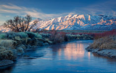 Owens river valley, California
