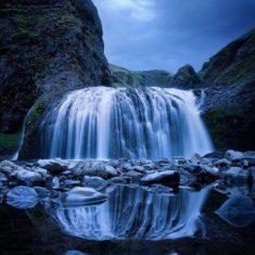 Stjórnarfoss, Iceland