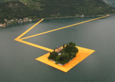 Giant floating piers on Italian lake, by Christo – Most Beautiful Spots