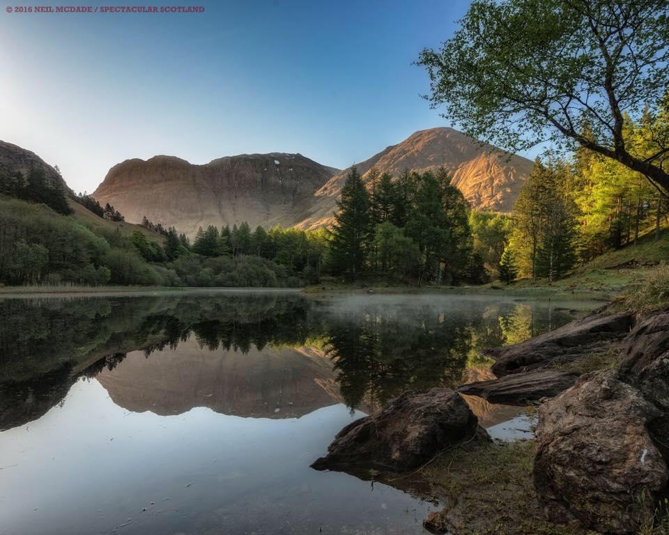 Glencoe – Bidean Nam Bian from Torren Lochan