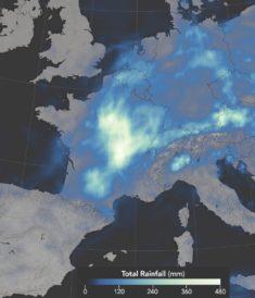 Inondations catastrophiques en France • PopulationData.net
