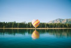 Hot air balloon (Montgolfière)