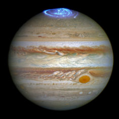 There are auroras on Jupiter