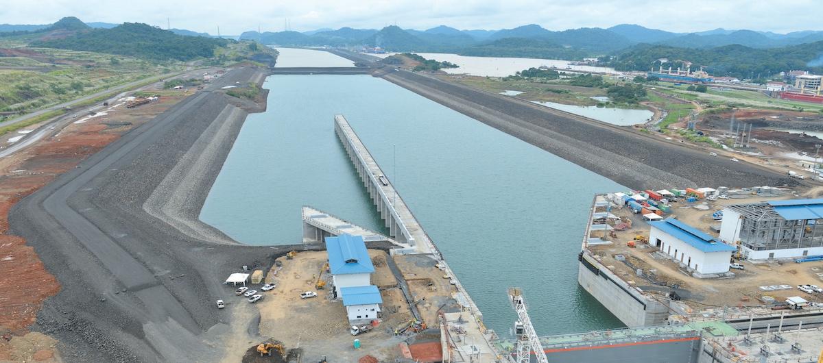 A larger Panama canal • PopulationData.net