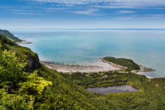 Bic national park, Quebec, Canada