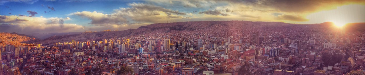 La Paz panoramic view, Bolivia