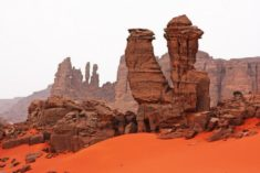 Tadrart Rouge in Djanet, south of Algeria