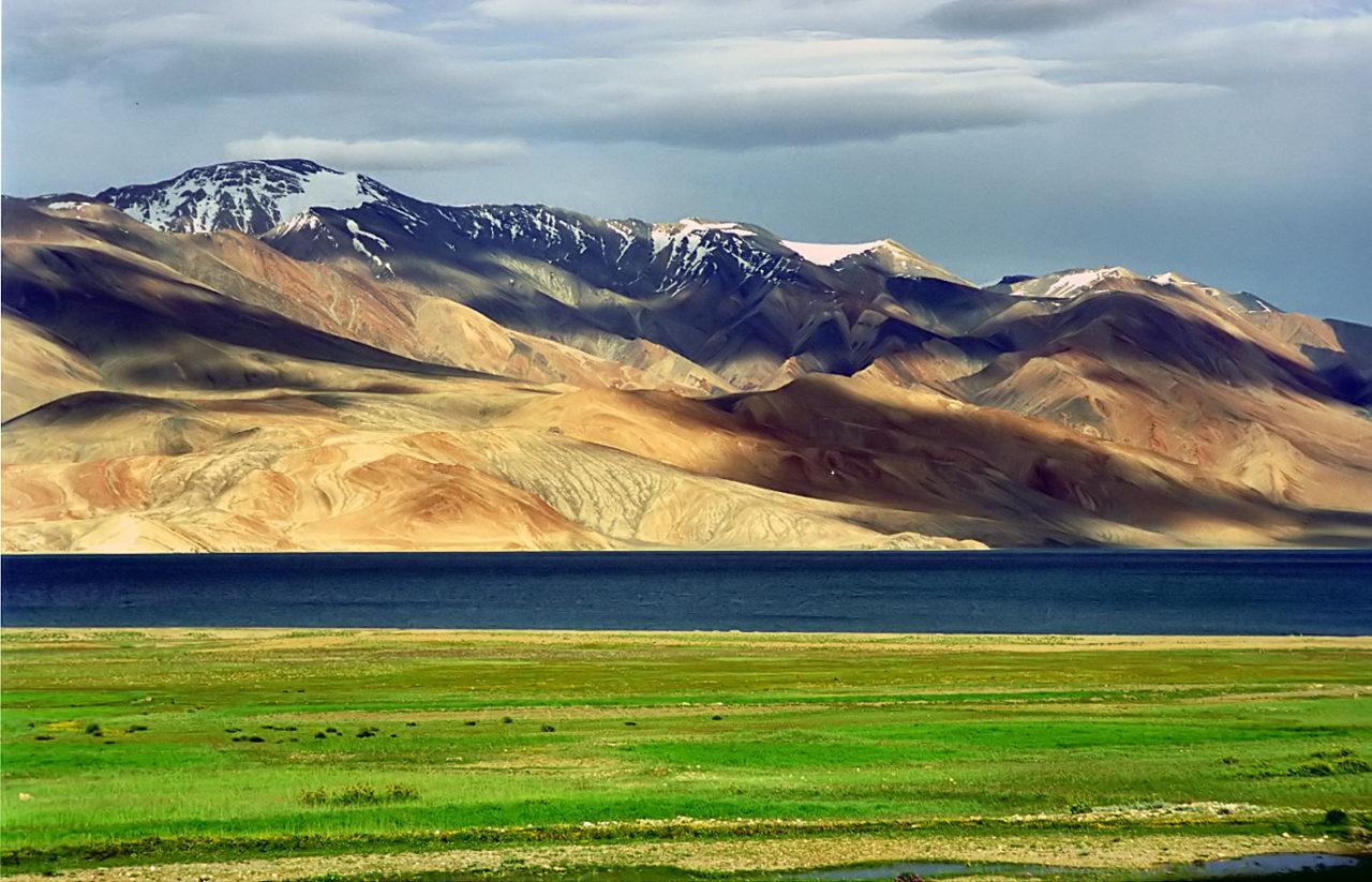 Mountains in Ladakh, India. Karakoram, West Tibetan Plateau alpine steppe