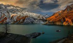 Amir Kabir lake, Iran.