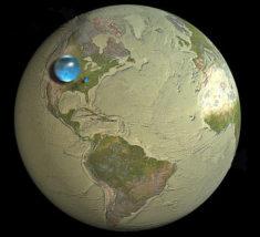 L'eau sur Terre • PopulationData.net