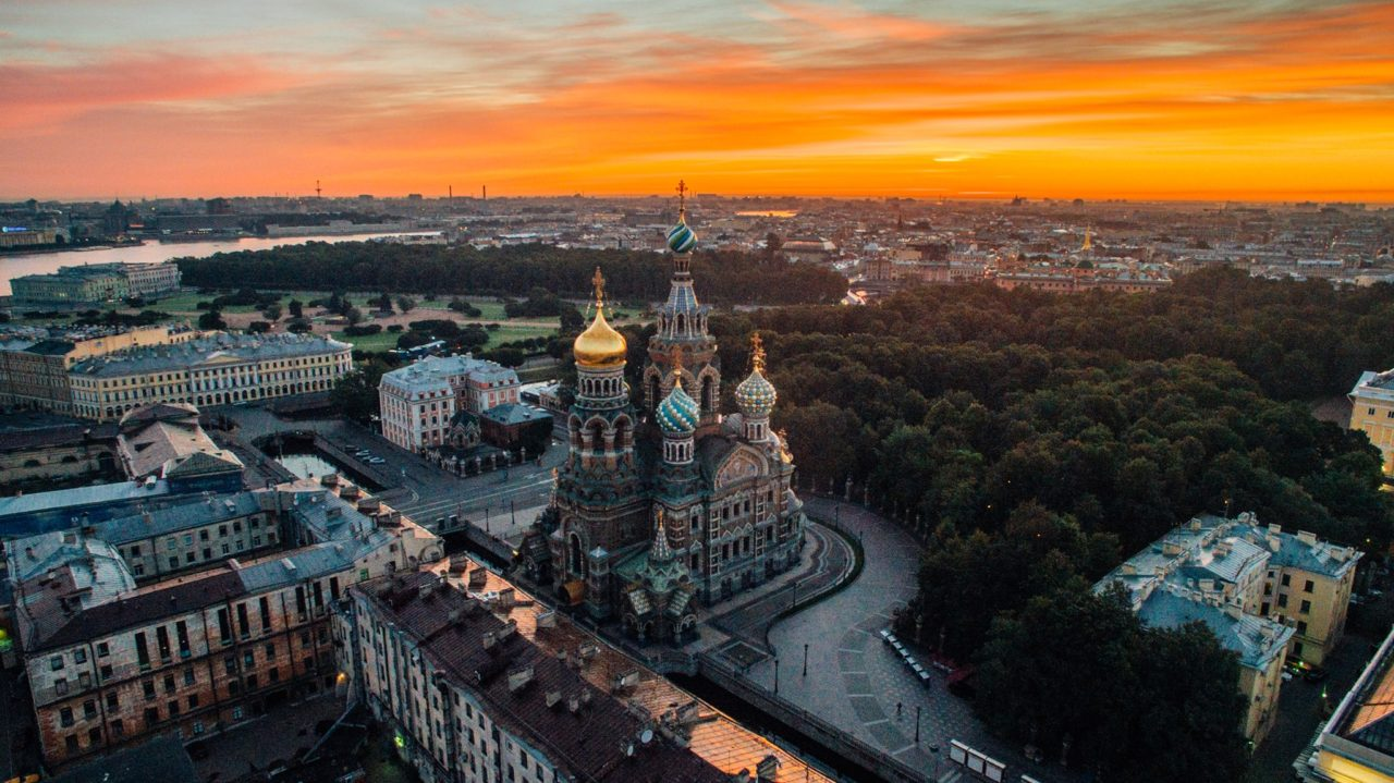 Sunset over St. Petersburg, Russia. Most Beautiful Picture of the Day: September 13, 2016 – Most ...
