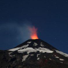 Chile : Villarrica volcano