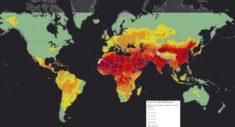 92 % de la population mondiale exposée à la pollution aux particules fines • PopulationData.net