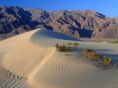 Death Valley sand dunes, USA