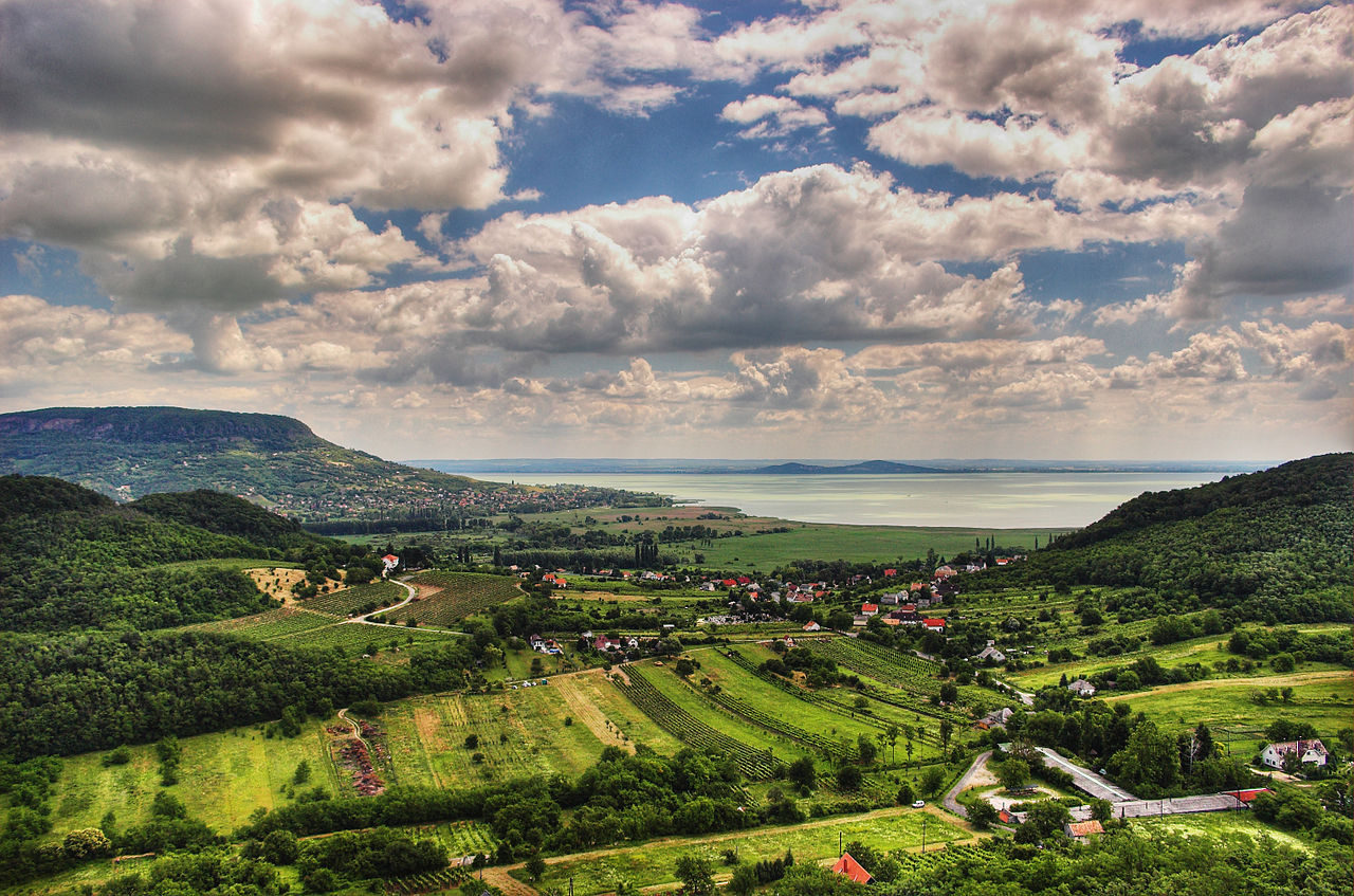 Lake Balaton, Hungary.