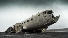 Solheimasandur Plane Wreck, Iceland. Photo: Blair Fraser.