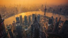 Amazing picture of Shanghai, China.