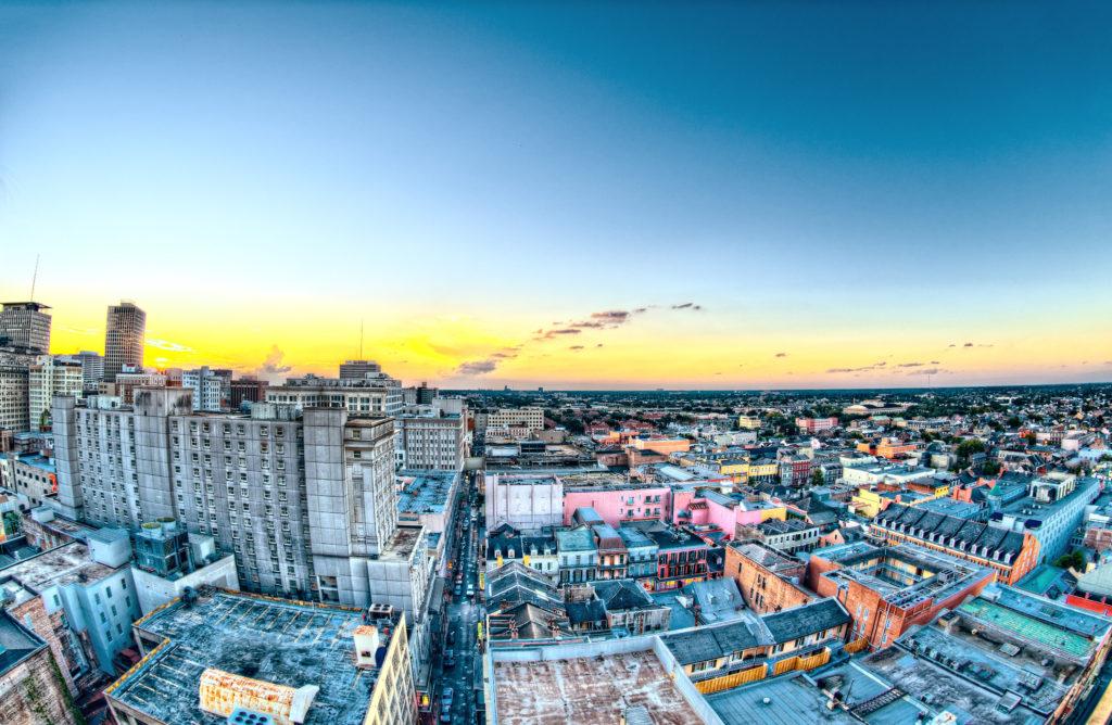 City landscape, by Scott Webb