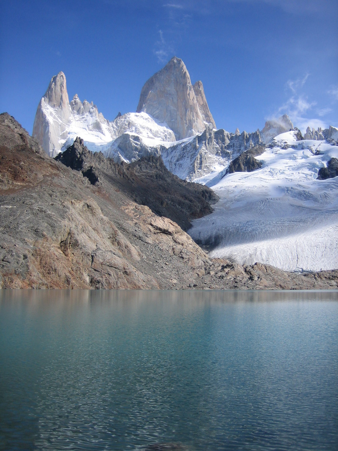 Monts Fitz Roy, Patagonia, Argentina.