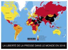 74 journalistes tués en 2016 • PopulationData.net