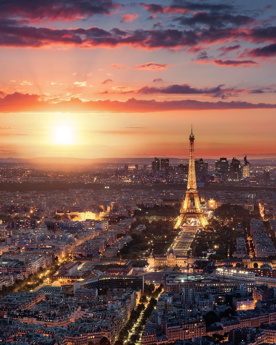 Paris, city of lights.