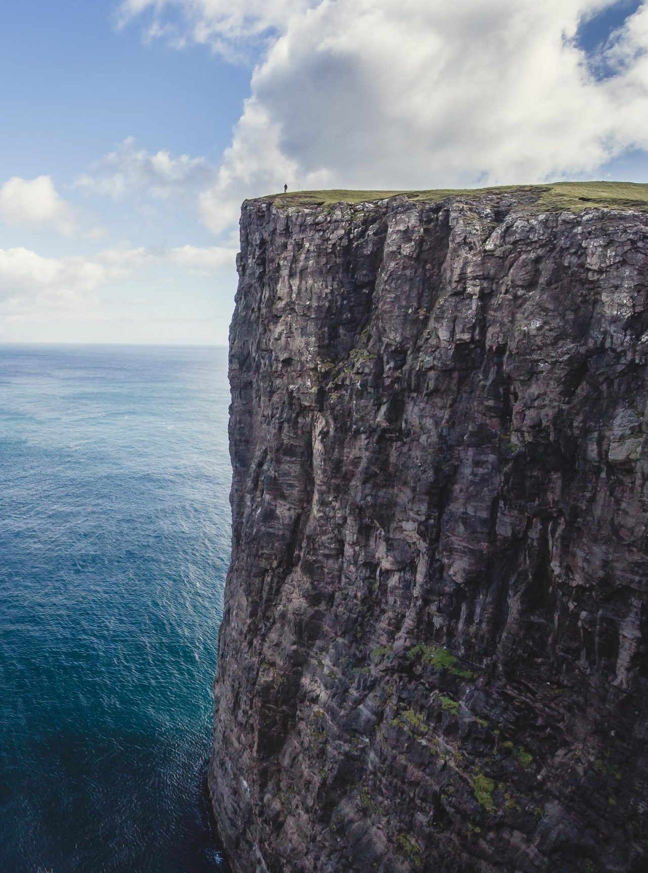 Faroe Islands cliffs