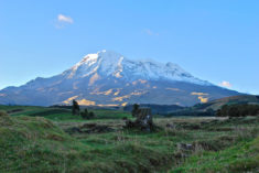 Chimborazo, volcano, Ecuador.