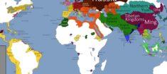 Histoire géopolitique du monde, en cartes.