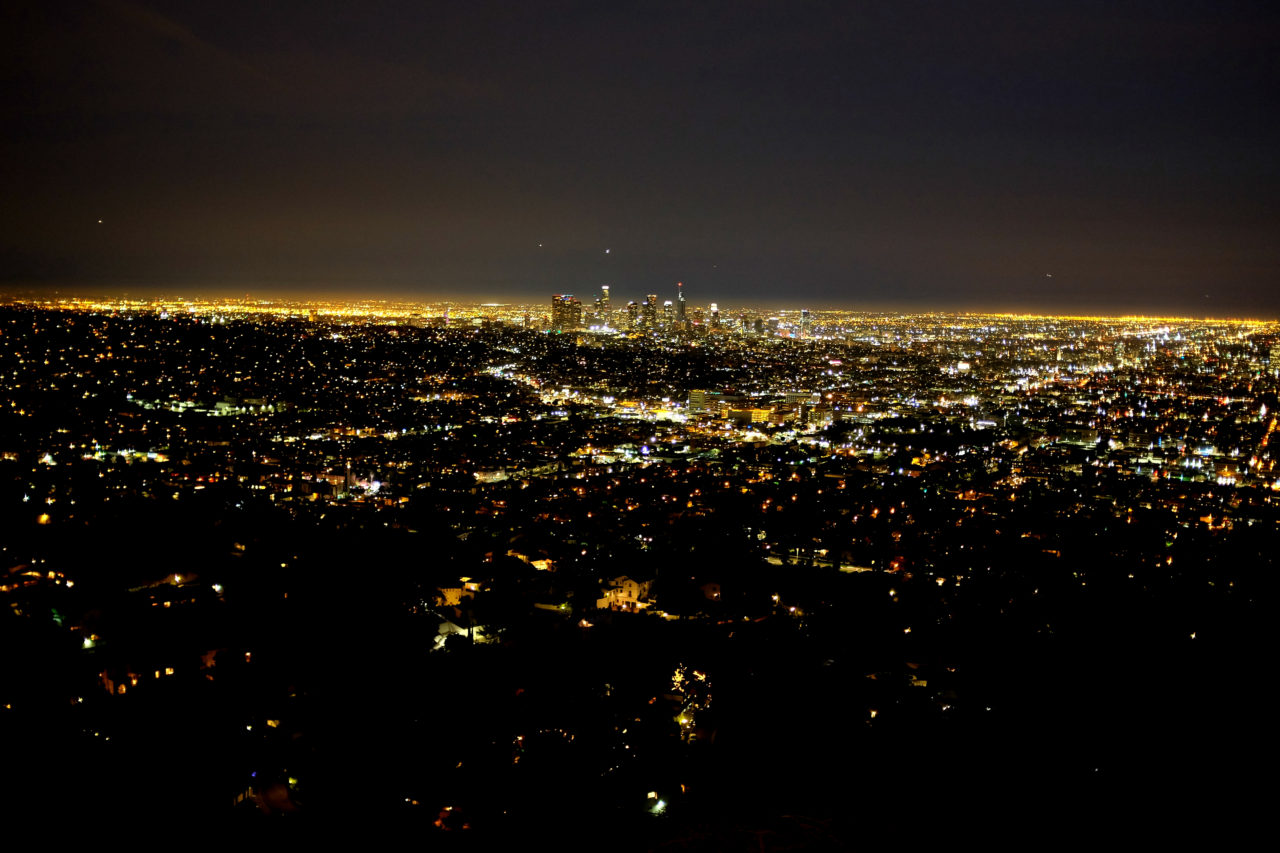 Los Angeles by night