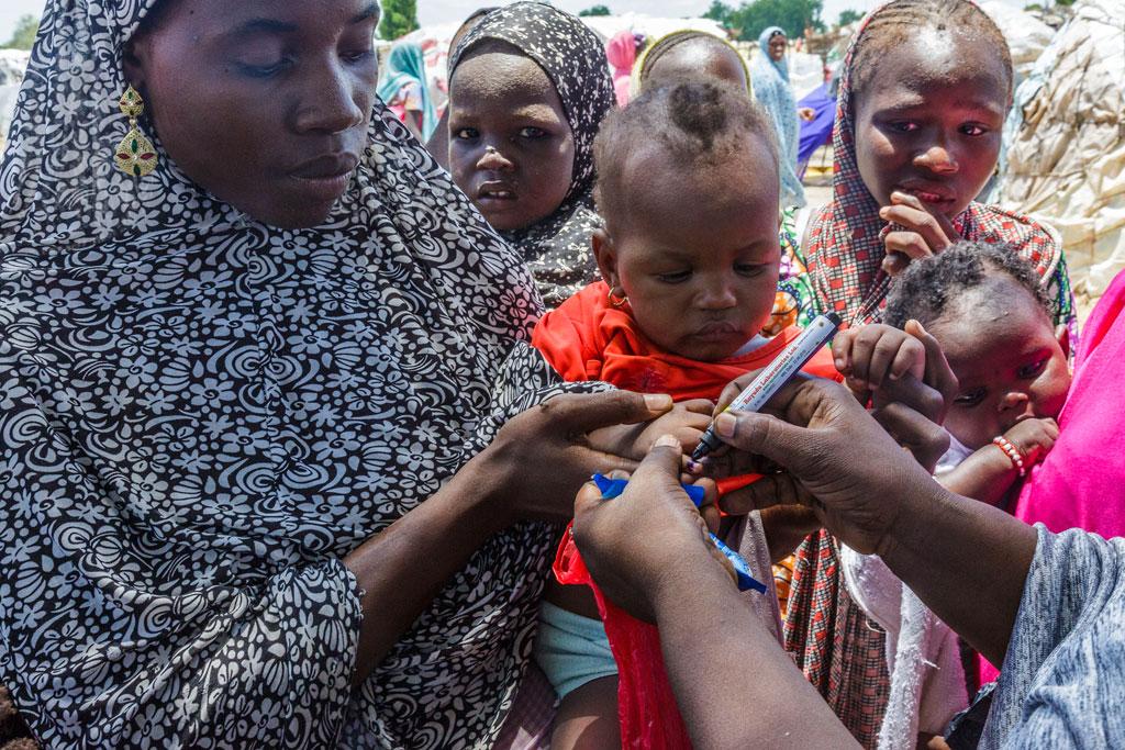 116 millions d'enfants vaccinés contre la polio en Afrique • PopulationData.net