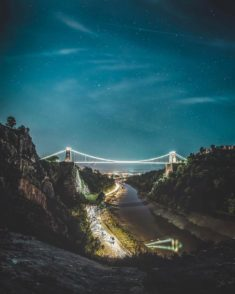 Bristol Bridge at night, UK – Most Beautiful Picture of the Day: May 21, 2017 – Most Beautiful P ...