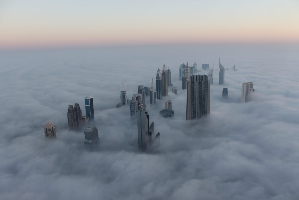 Dubai skyline in the clouds – Most Beautiful Picture of the Day: May 3, 2017 – Most Beautiful Pi ...