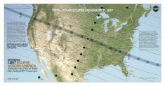 Éclipse solaire 2017 • PopulationData.net