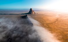 Sunrise at Shiprock, New Mexico – Most Beautiful Picture of the Day: September 24, 2017 – Most B ...